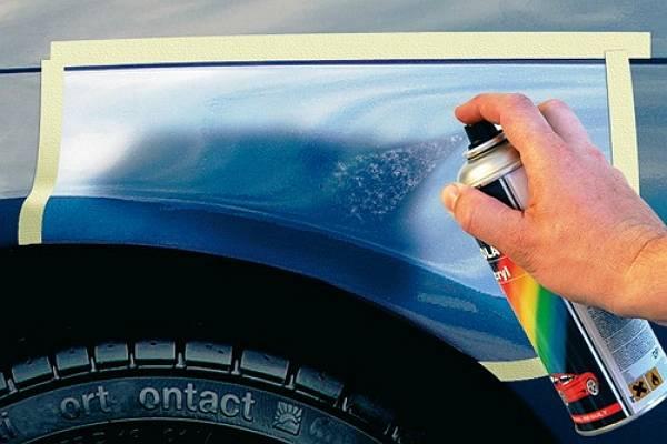 Как красить баллончиком авто своими руками 71