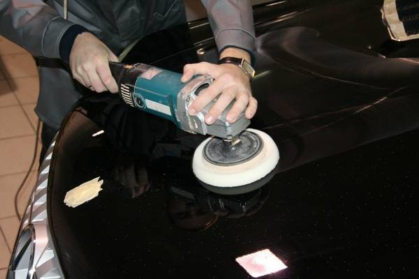 Как сделать машинку для полировки авто своими руками 30